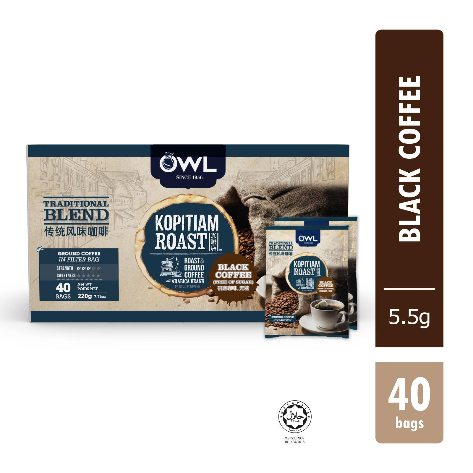 Owl Traditional Blend 40X5.5G