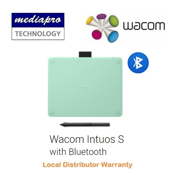 Wacom Intous Small CTL-4100WL/E0-CX Bluetooth Graphic Drawing Pen Tablet - CTL-4100WL - Local Distributor Warranty