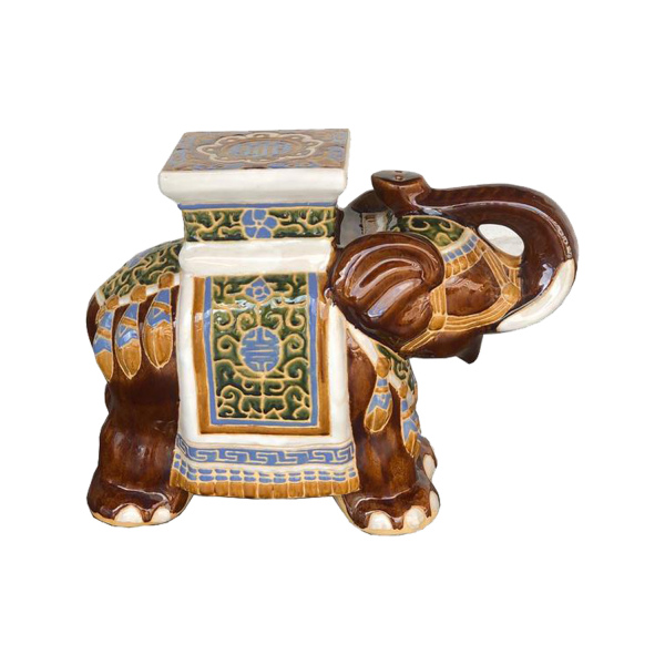 Ceramic Elephant Brown
