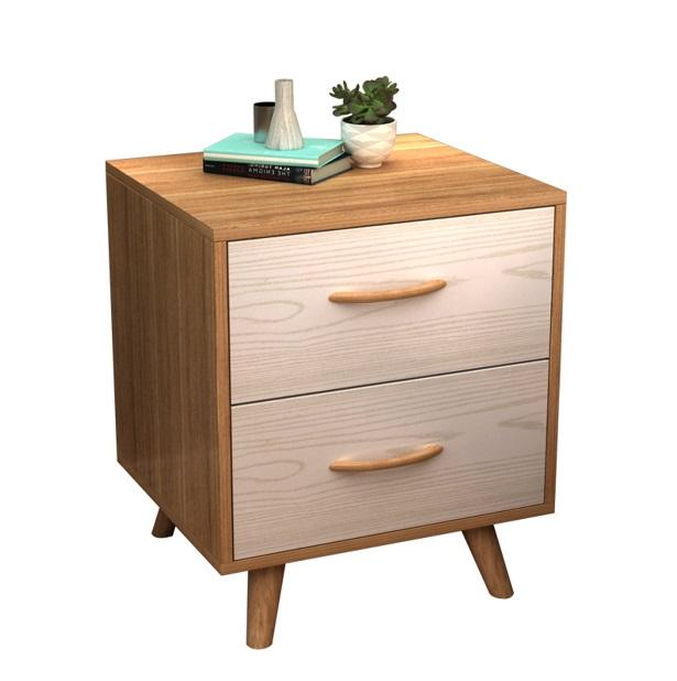 Simple Nordic Bedside Table