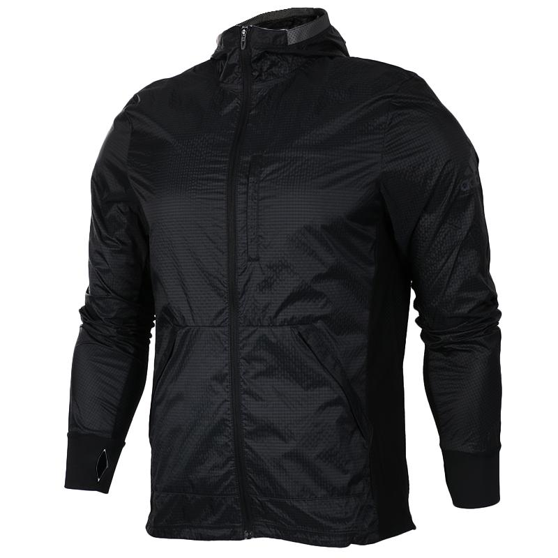 7c8964ba85c3 Adidas 2019 Autumn New Style Men s Wear Windproof Coat Jacket Running  Hooded Sports Clothing AP9753