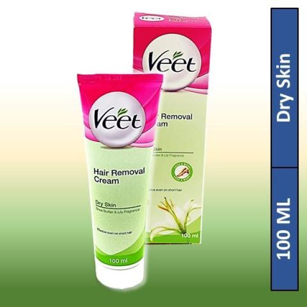 Buy Veet Hair Removal Cream With Shea Butter & Lily Fragrance for Dry Skin 100ML Singapore