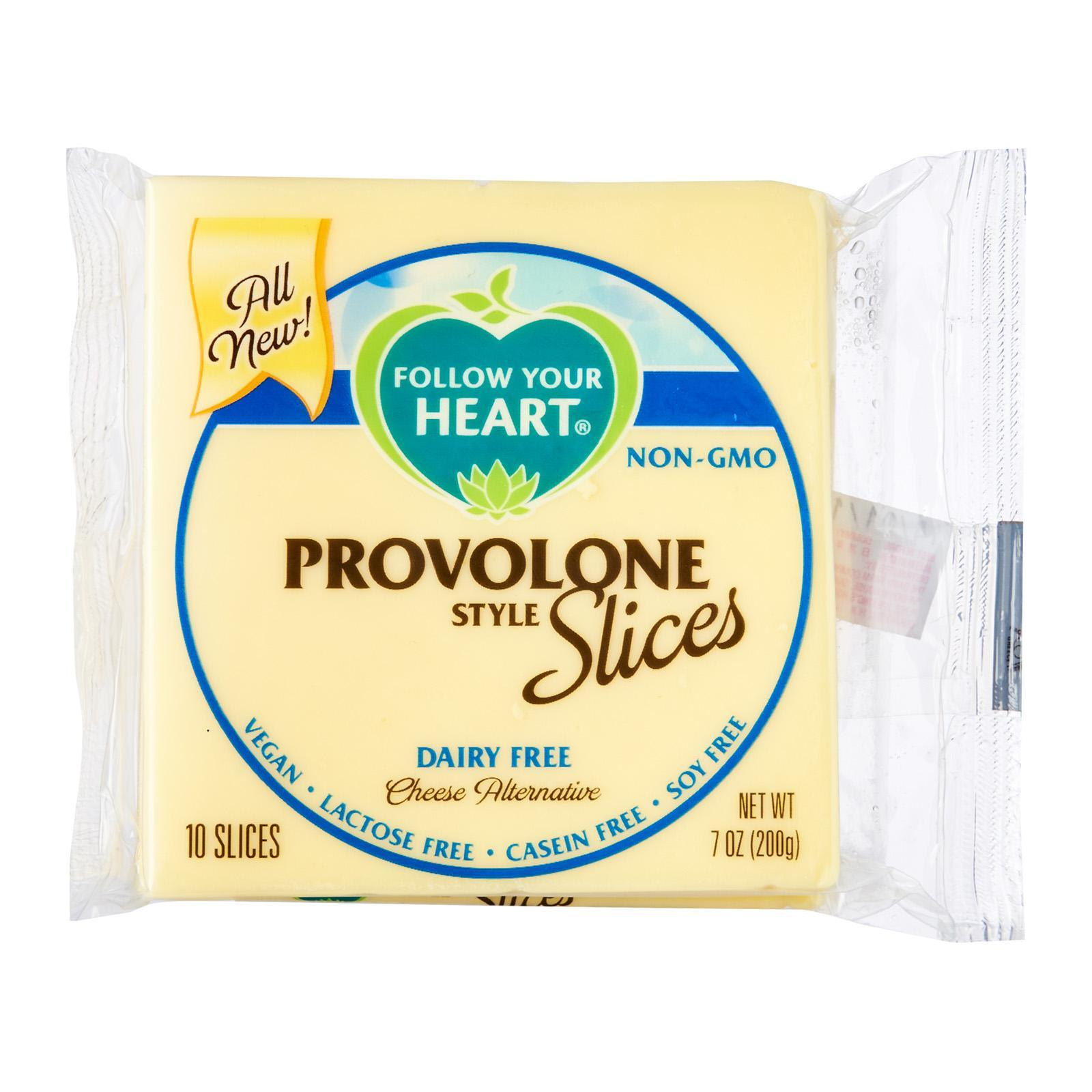 Follow Your Heart Vegan Gourmet Cheese Alternative Provolone Slices