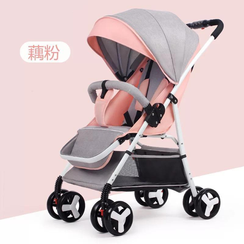 NEW MODEL Lightweight Children Kid Toddler Newborn Infant Baby Stroller / Baby Pram Compact Folding Travel Check In Kg Waterproof Folding Trolley Carriage Sets Pockit Multi Function Double Twins Girl Boy High Chair Reclinable Seat Singapore