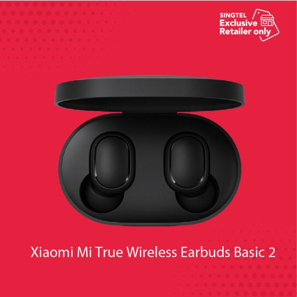 Xiaomi Mi True Wireless Earbuds Basic 2[Singtel Exclusive Retailer- Erajaya] Singapore