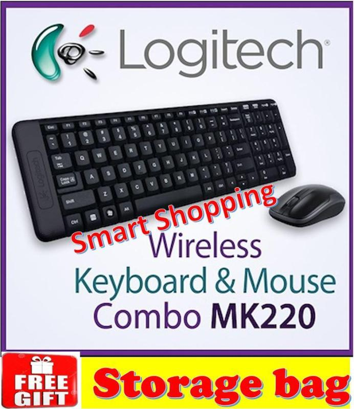 Logitech MK220  MK270r Wireless Keyboard Mouse Black Singapore