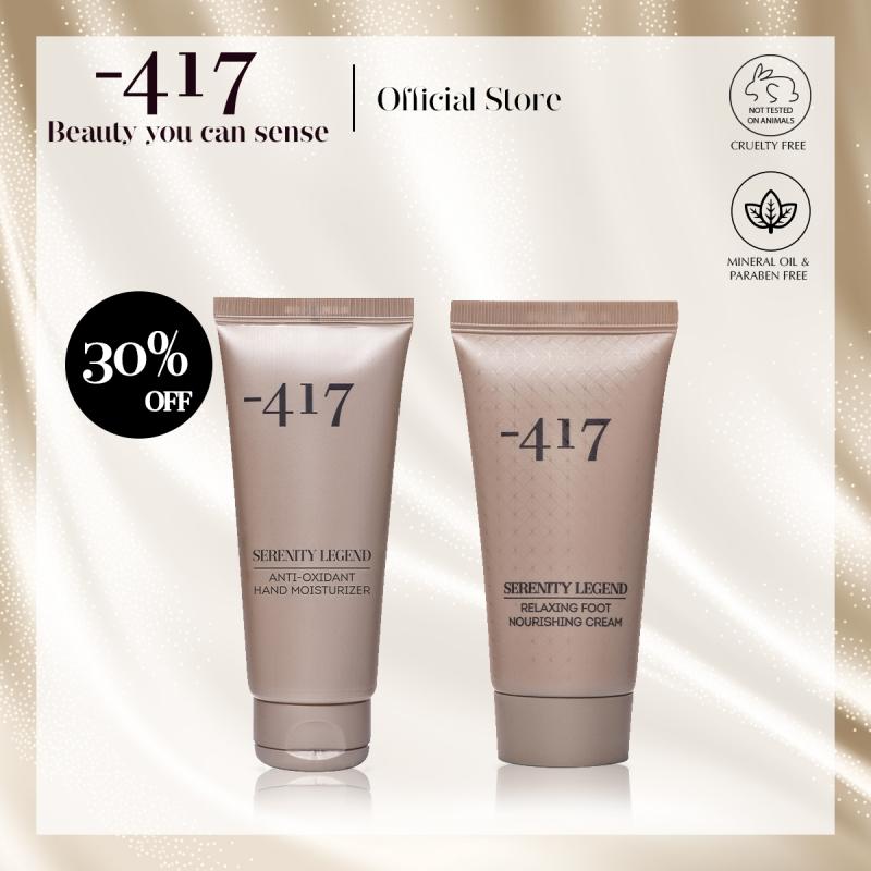 Buy Minus 417 Hand and Foot Care Set - Relaxing Foot Nourishing Cream 100mlwith Anti-Oxidant Hand Moisturiser 100ml(Moisturizing + Repairing) Singapore
