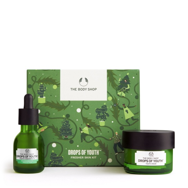 Buy The Body Shop Drops Of Youth™ Fresher Skin Kit (Christmas Gift Set) Singapore