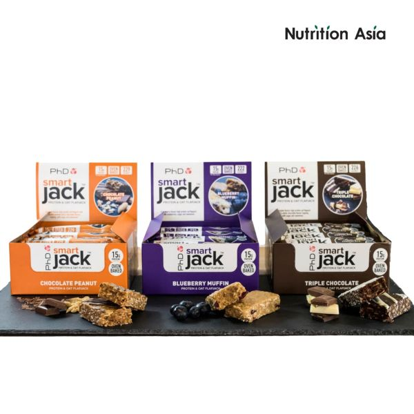 Buy Phd Smart Jack 60g Bar 15g Protein 12 Pack Singapore