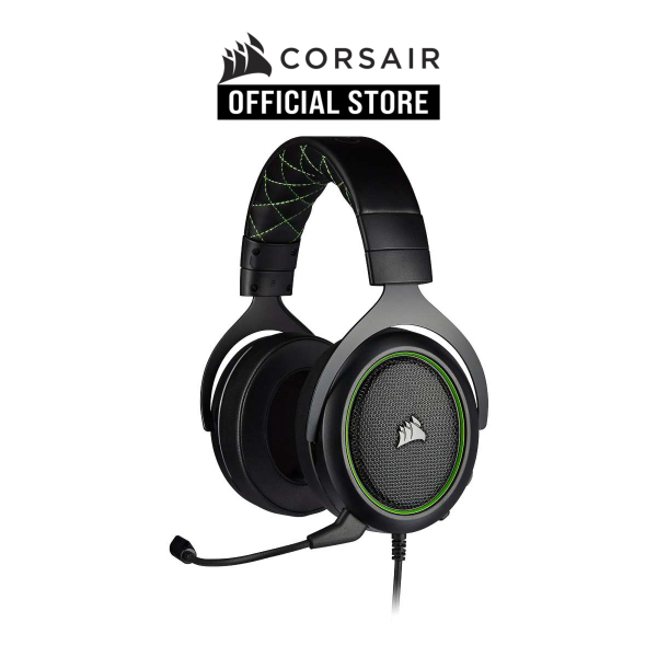 CORSAIR HS50 PRO STEREO Gaming Headset — Green
