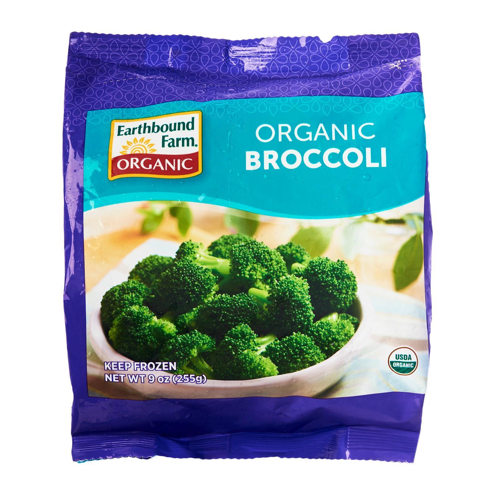 Earth Bound Farms Organic Broccoli - Frozen By Redmart.