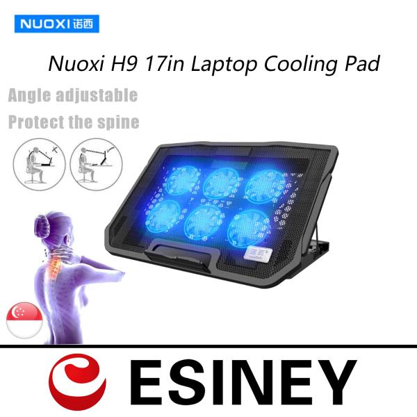 SG Seller H9 Laptop Cooling Pad Dual USB Port Cooler Adjustable Silent Radiator