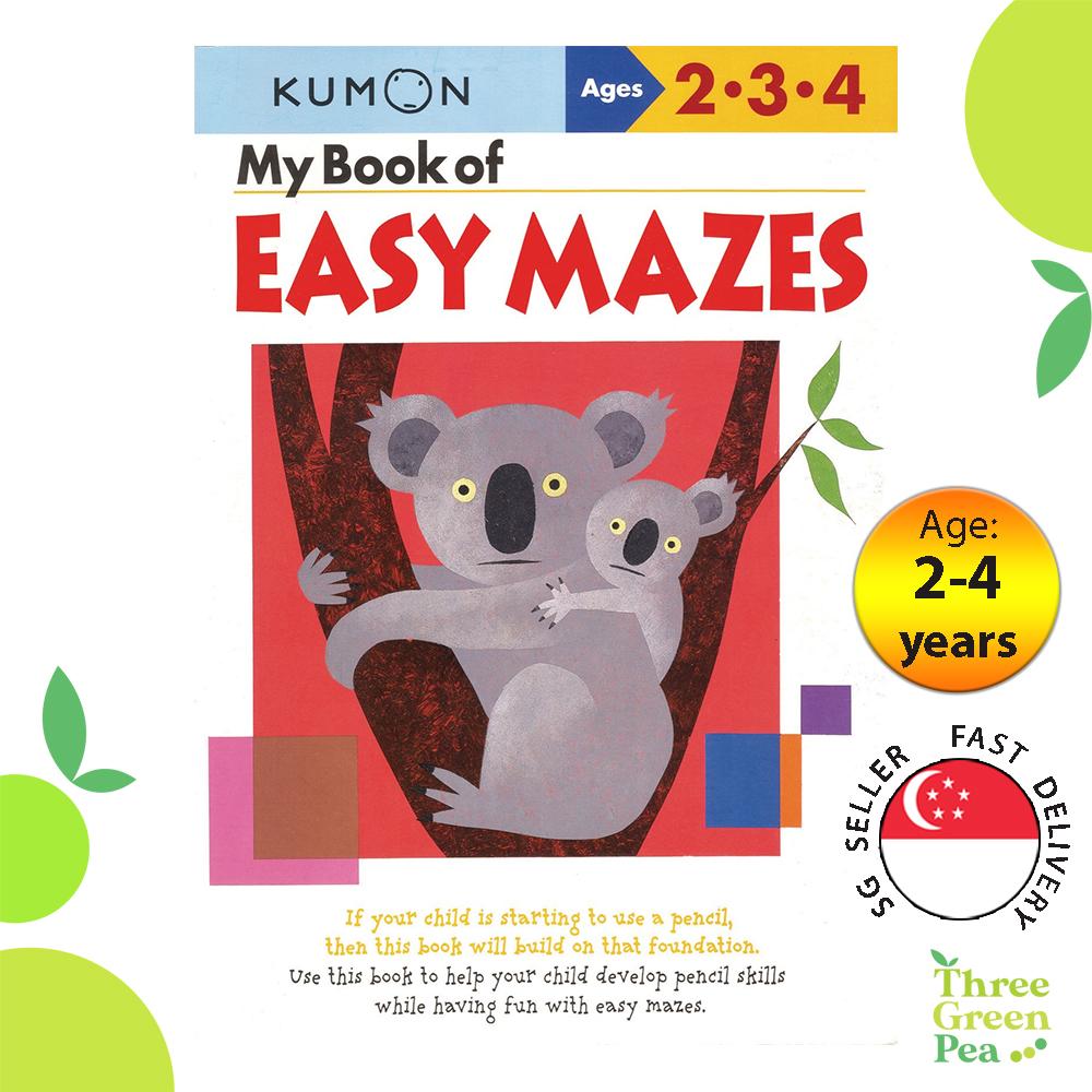Kumon Basic Skills Workbooks - My Book of Easy Mazes