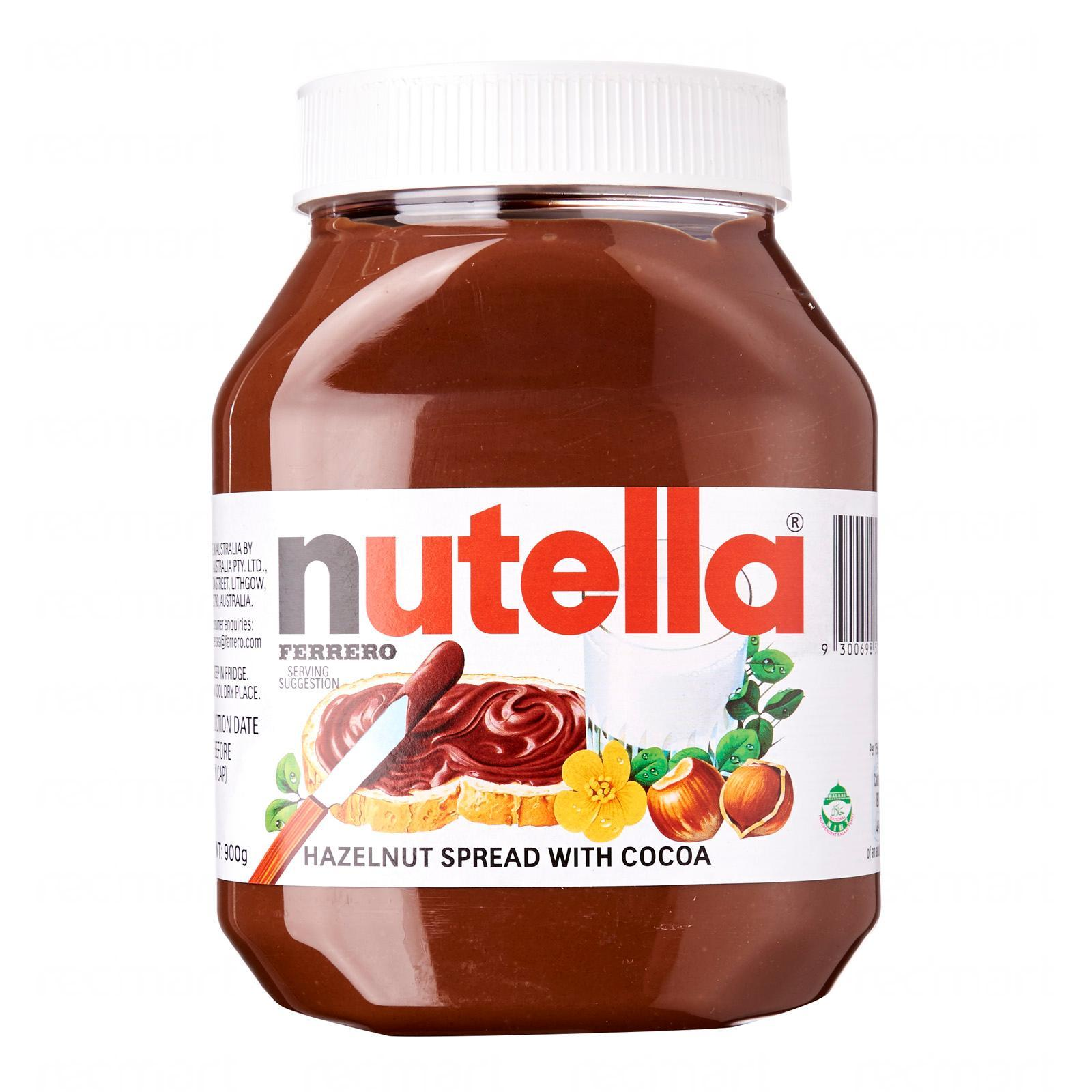 NUTELLA Hazelnut Spread 900g