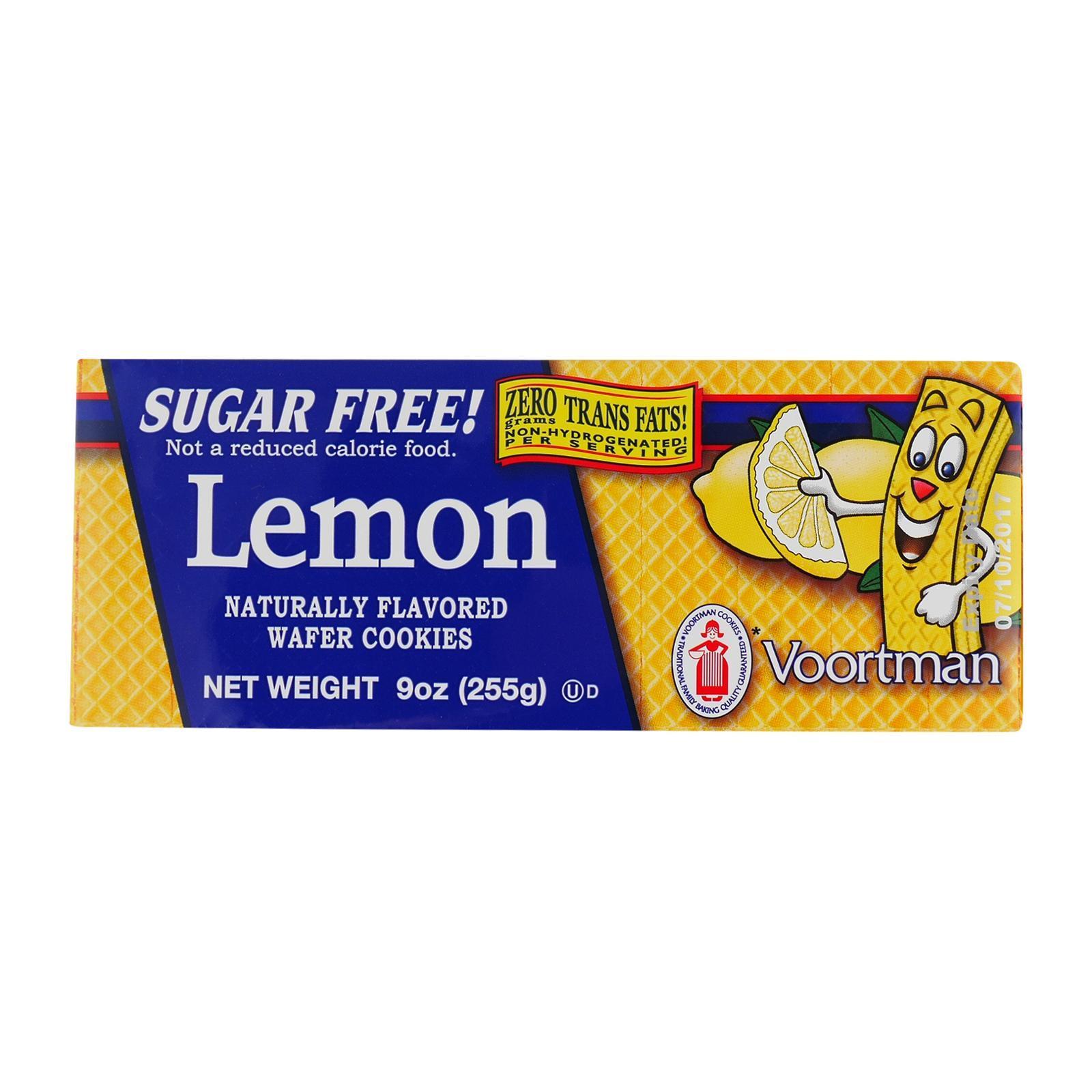 Voortman Sugar Free Lemon - By Wholesome Harvest
