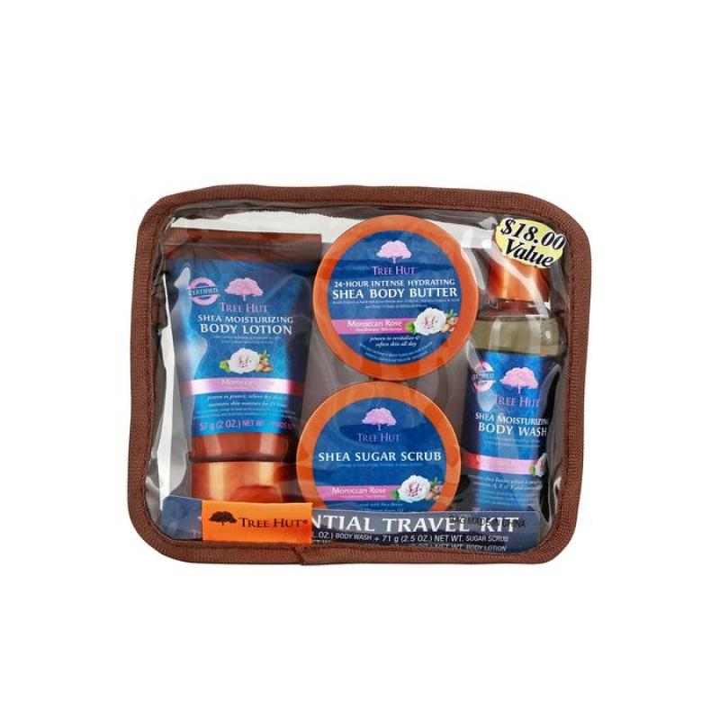 Buy Tree Hut Essential Travel Kit, Moroccan Rose Singapore