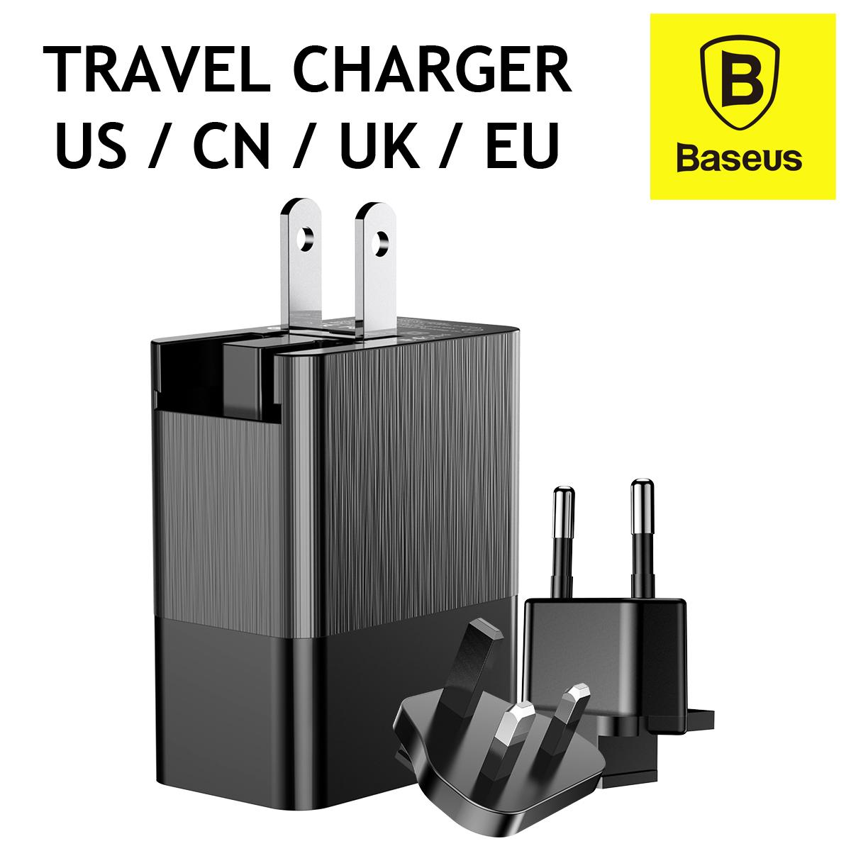 Baseus Duke Universal Travel Adapter Charger Multi Usb Travel Adaptor Wall Charger By Uniqhome.