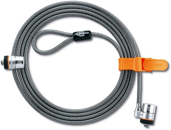 Kensington MicroSaver® Twin LockHeads Keyed Cable Locks