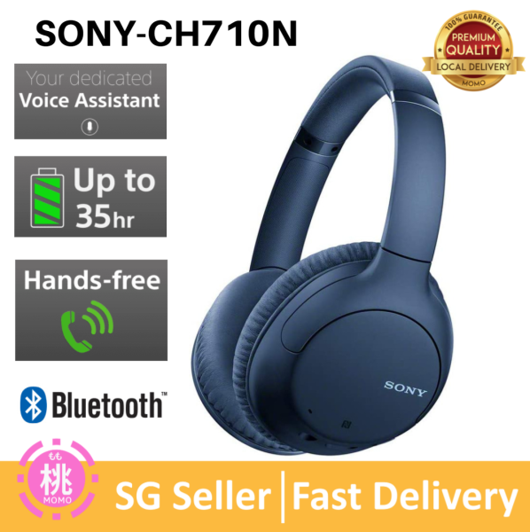 Sony WHCH710N CH710N WH-CH710N Bluetooth Wireless Over Ear Headphone Singapore