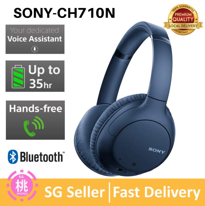 Sony WHCH710N CH710N WH-CH710N Bluetooth Wireless Over Ear Headphone Singapore