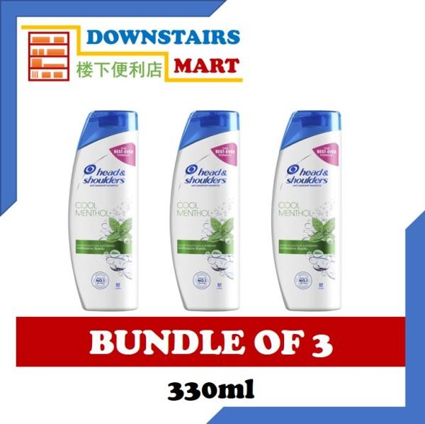 Buy [Bundle of 3] Head & Shoulders Cool Menthol Shampoo 330ml x 3 Singapore