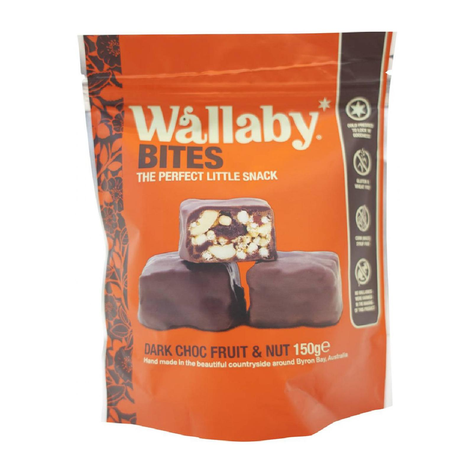 Wallaby BITES Dark Chocolate Fruit And Nut