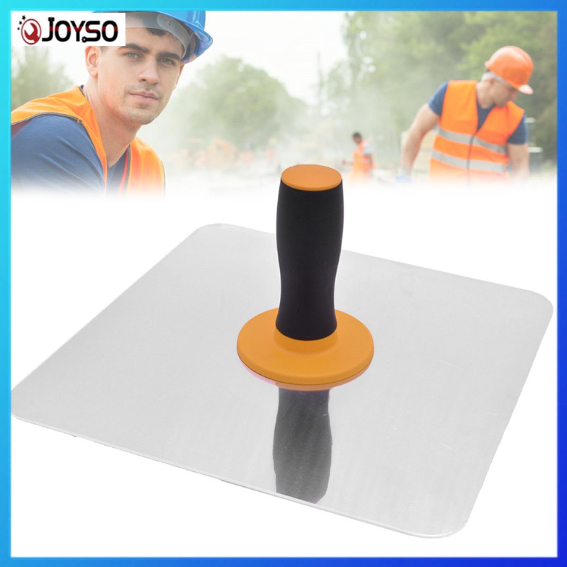 JOYSO Aluminium Trowel Mortar Board Holder Construction with Handle Plastering Tool