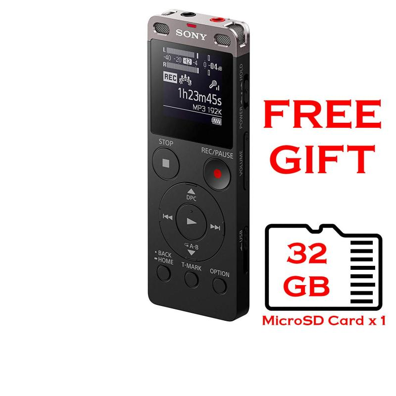 Sony ICD-UX560F UX560 Voice Recorder with 32GB MicroSD Card Free Singapore