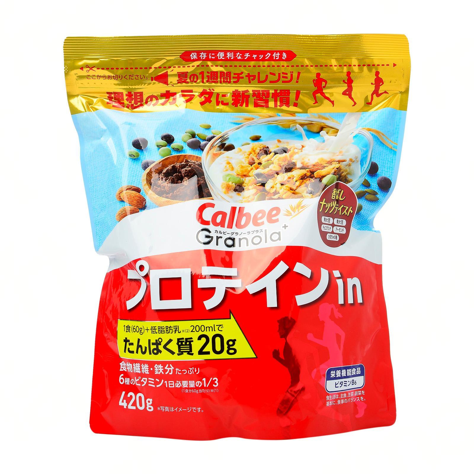 Calbee Plus Protein In Granola