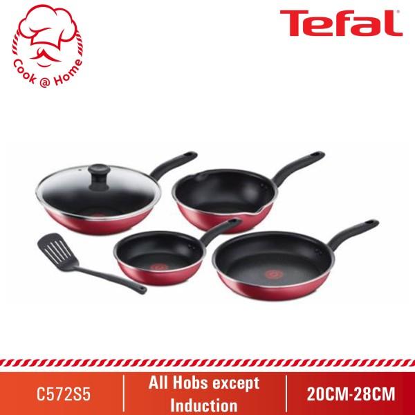 Tefal So Red 6pcs Set C572S5 Singapore