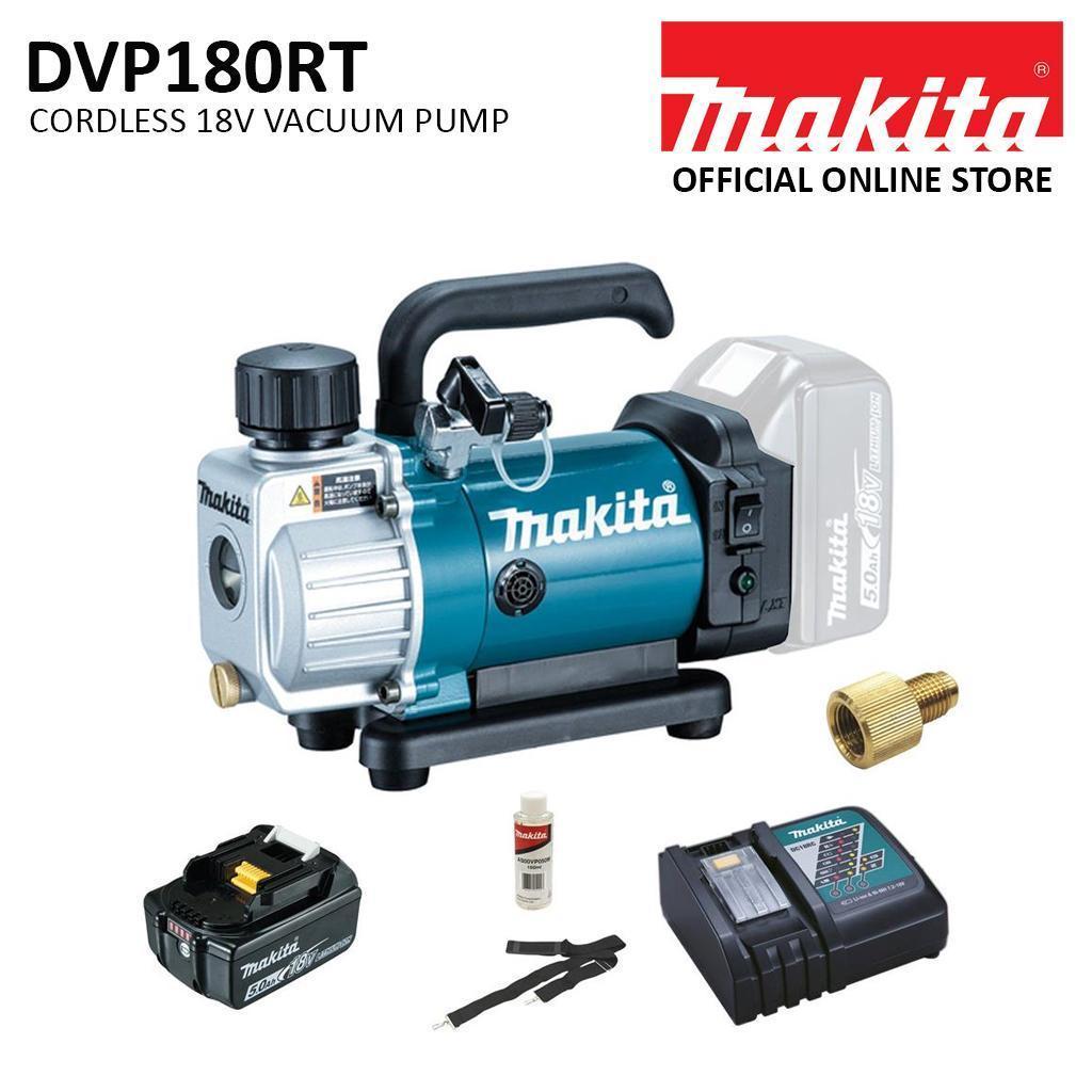 Makita DVP180RT Cordless Vacuum Pump Kit (18V)