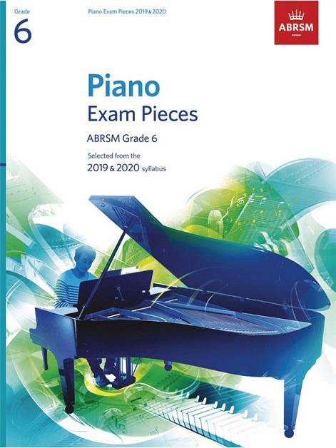 Piano Exam Pieces 2019-2020 Grade 6 Book only