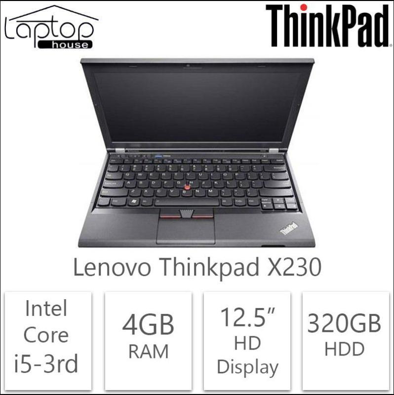 Lenovo ThinkPad X230 12.5 Core i5 3rd Gen 4GB RAM (Refurbished)