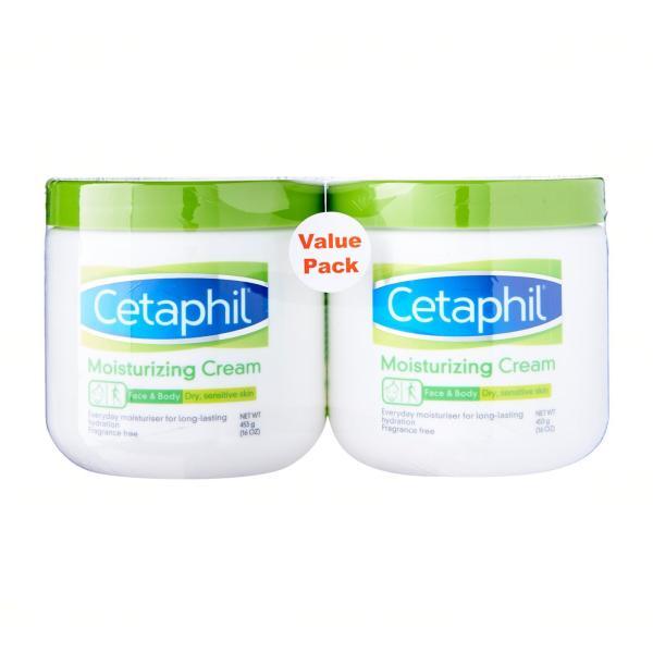Buy Cetaphil Moisturizing Cream (Dry Sensitive Skin) Twin Pack Singapore