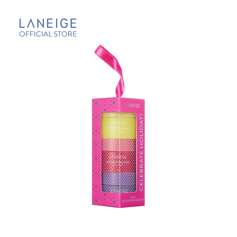 Buy (2020 Holiday Collection) LANEIGE Lip Sleeping Mask Set 8g x 3 Singapore