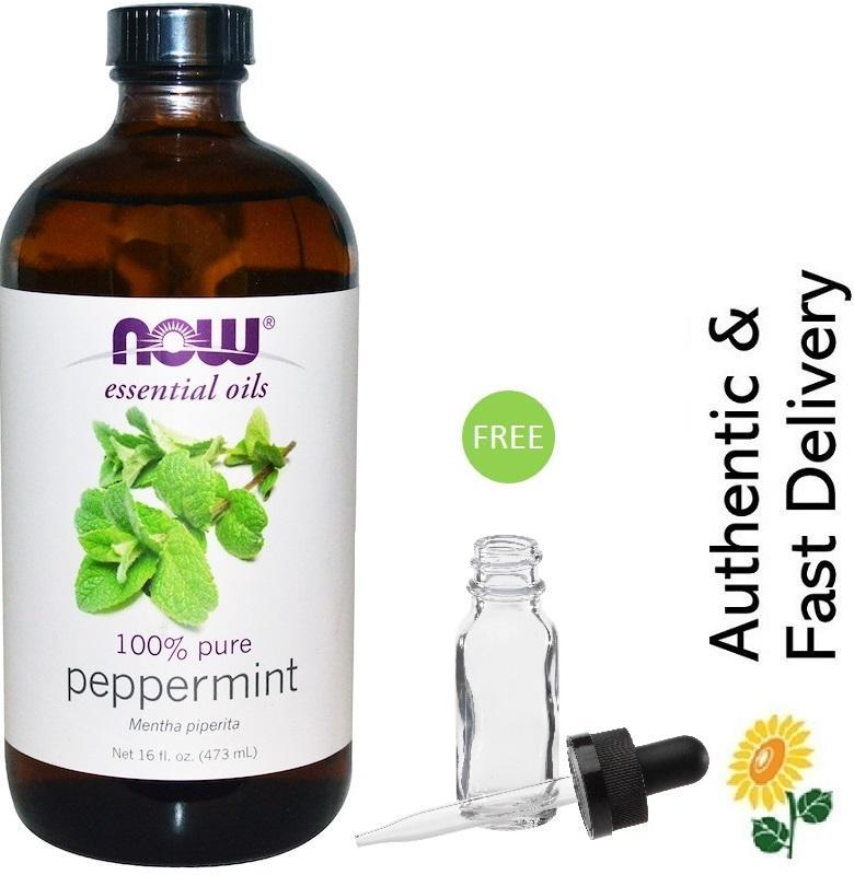 Buy [In-Stock] Now Foods Essential Oils, Peppermint, 16 fl oz (473 ml) Singapore