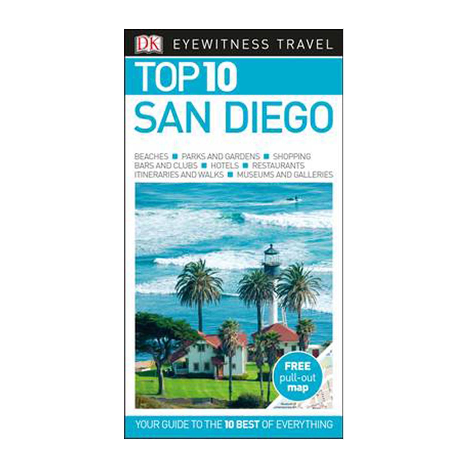 Top 10 San Diego (Paperback)