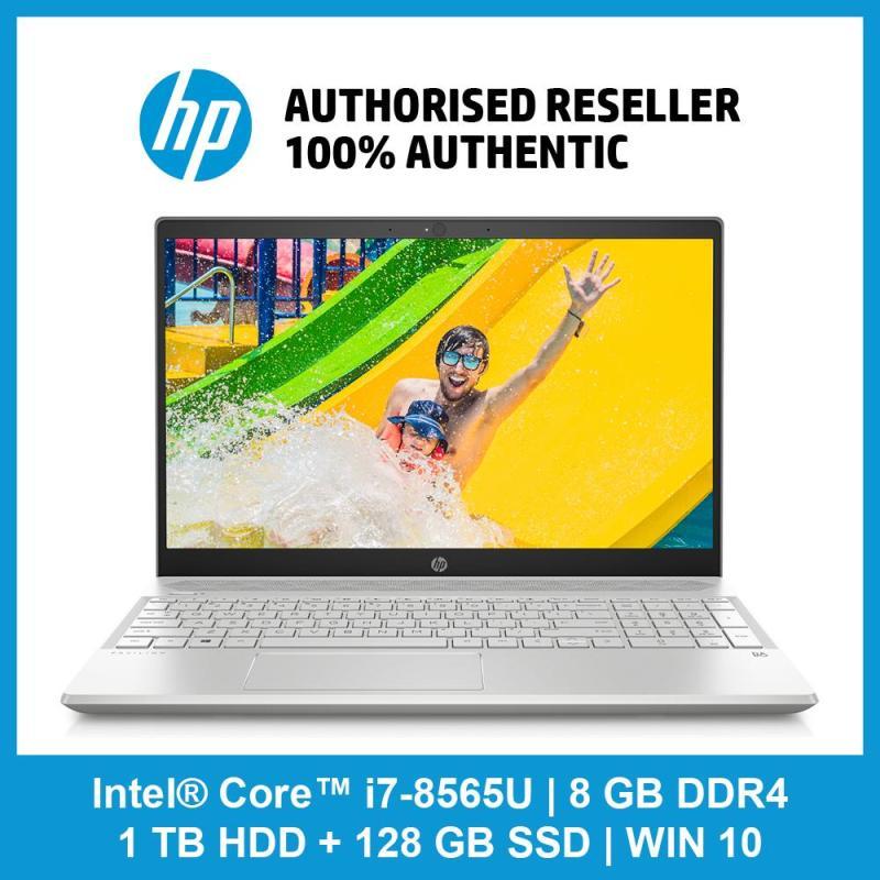 HP Pavilion Laptop 15-Cs1037TX / i7-8565U / 8 GB RAM / 1 TB 5400 rpm SATA / 128 GB SSD / WIN 10