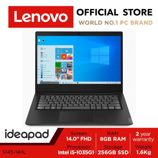 Lenovo ideapad S145-14IIL | 14.0inch FHD | i5-1035G1 | 8GB RAM | 256GB SSD | Win10 Home| 2Y warranty