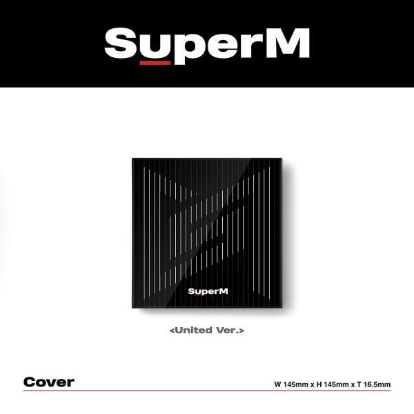 SuperM The 1st Mini Album SuperM UNITED Ver.