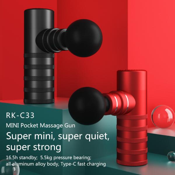 Buy [Latest Model] RK-C33 Mini Sports Fascial Massager Gun Plus Singapore