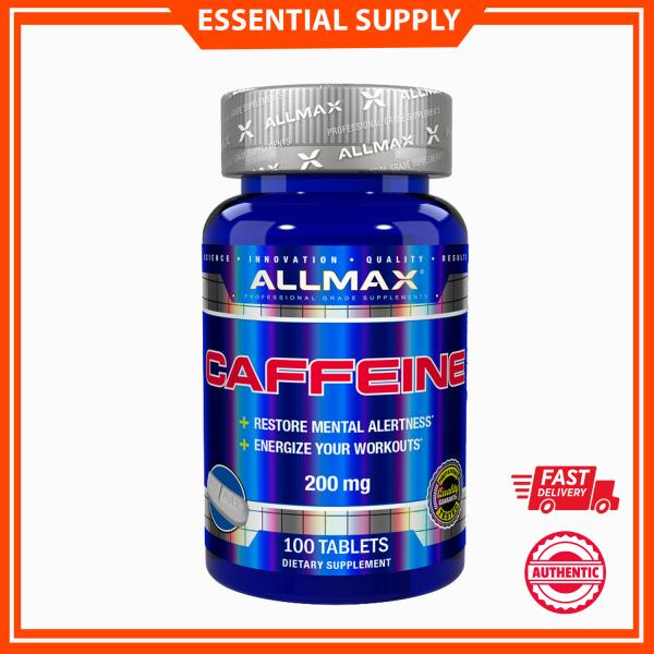 Buy ALLMAX Nutrition, Caffeine , 200 mg, 100 Tablets Singapore