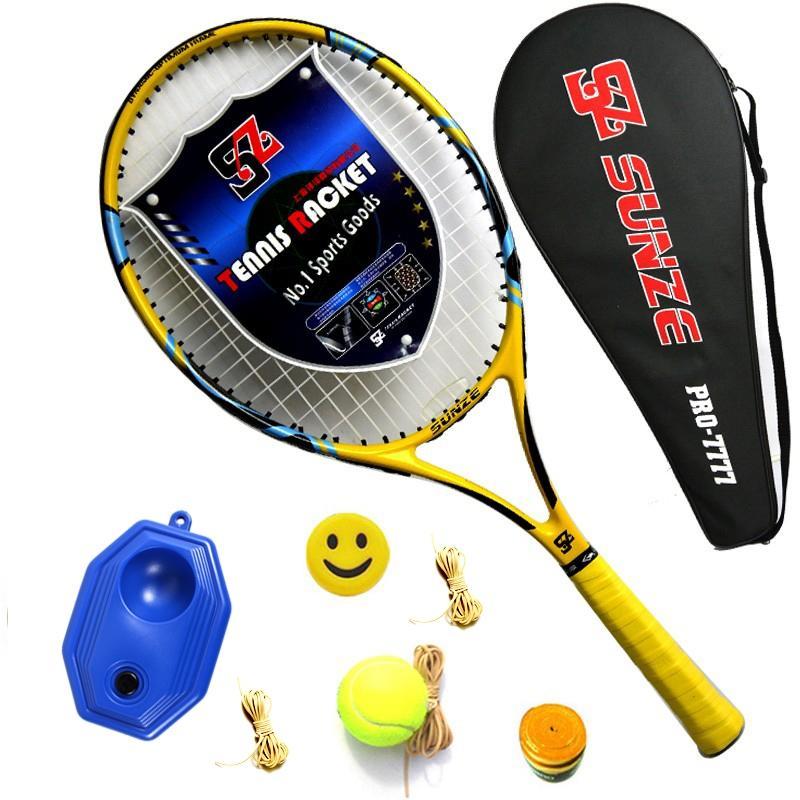 27347431179de0 Singapore. Buy One Get Nine Free Tennis Racket Product Beginners Tennis  Racket Carbon Composite materials Training Game