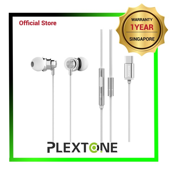PLEXTONE X56M Noise Reduction IPX4 Waterproof Headsets (USB Type C Interface) - 1 Yr Local Warranty Singapore