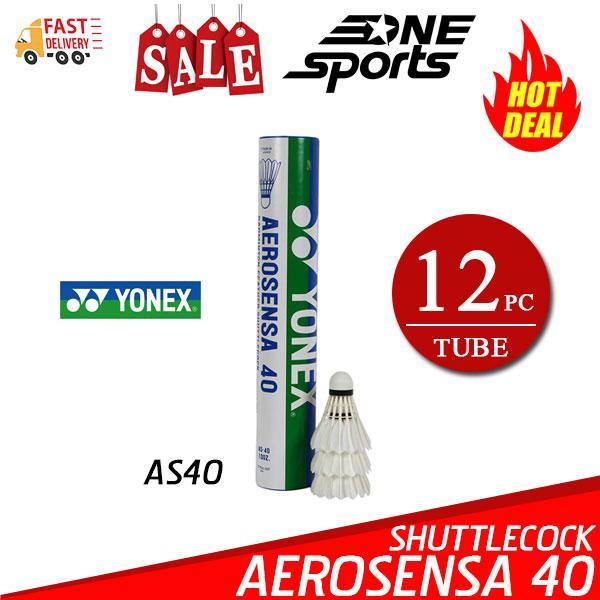 Yonex Aerosensa As-40 Badminton Feather Shuttlecock By One Sports.