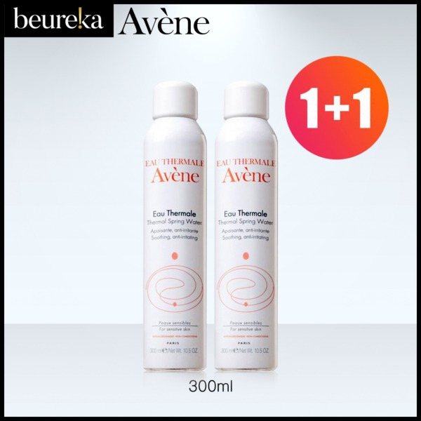 Buy Avene Thermal Spring Water Spray 300ml [BUNDLE OF 2] - Beureka [Beauty (Skincare) – Sprays / Mists (Leaves Skin Moist and Hydrated) Brand New 100% Authentic] Singapore