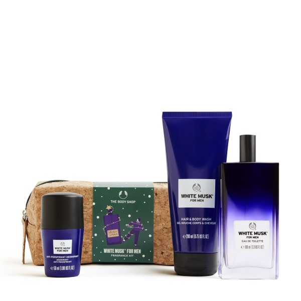 Buy The Body Shop White Musk® For Men Fragrance Kit (Christmas Gift Set) Singapore