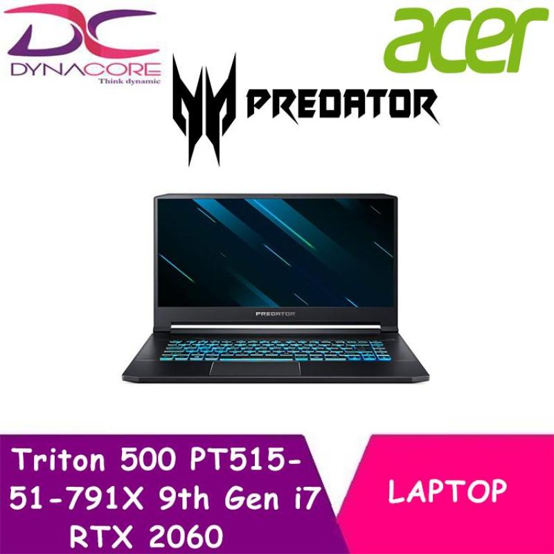 ACER Predator Triton 500 PT515 51 791X 15.6 IN I7-9750H 16GB 512GB SSD WIN 10 & RTX 2060 Graphics card (Free Gift with Purchase)