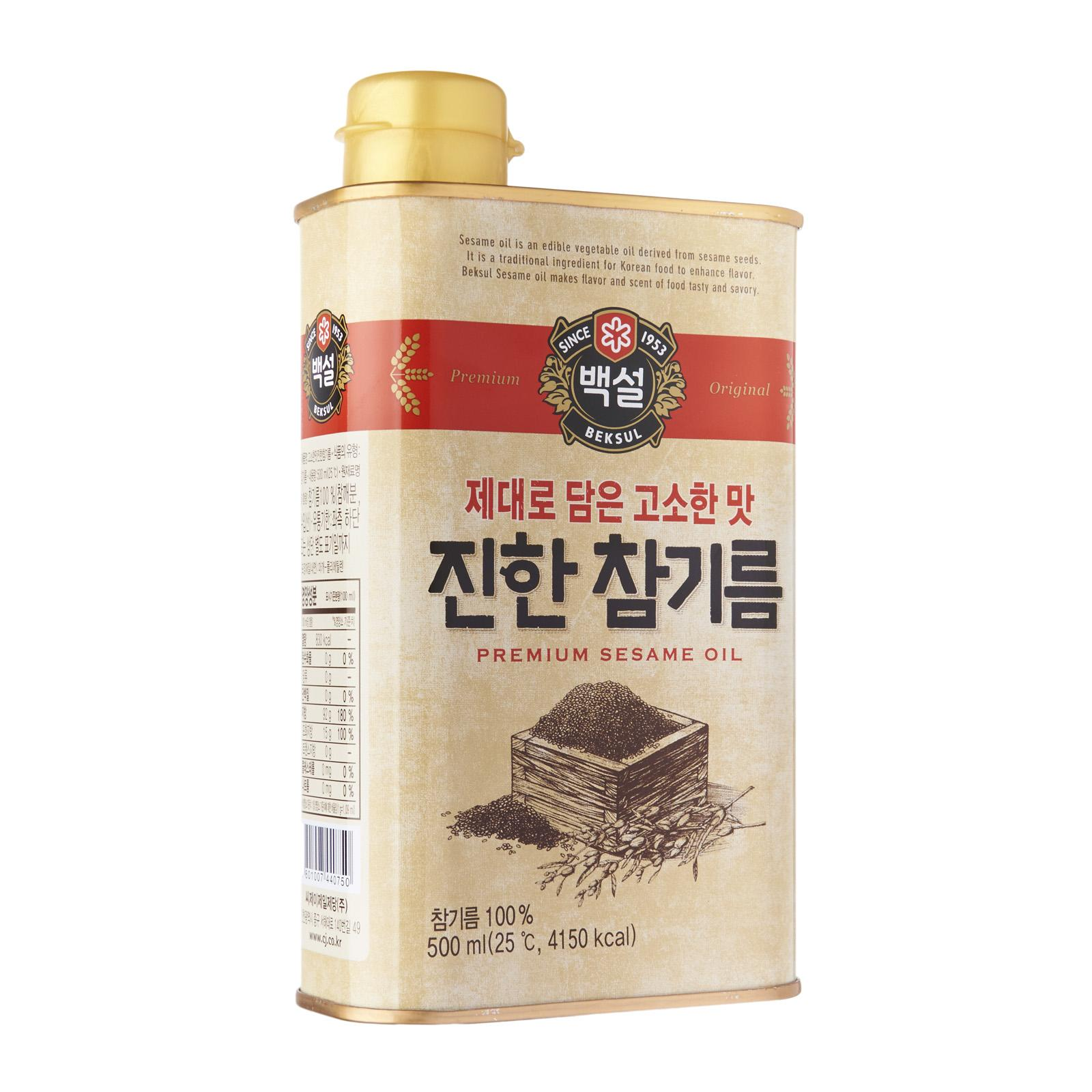 Cj Beksul Sesame Oil By Redmart.