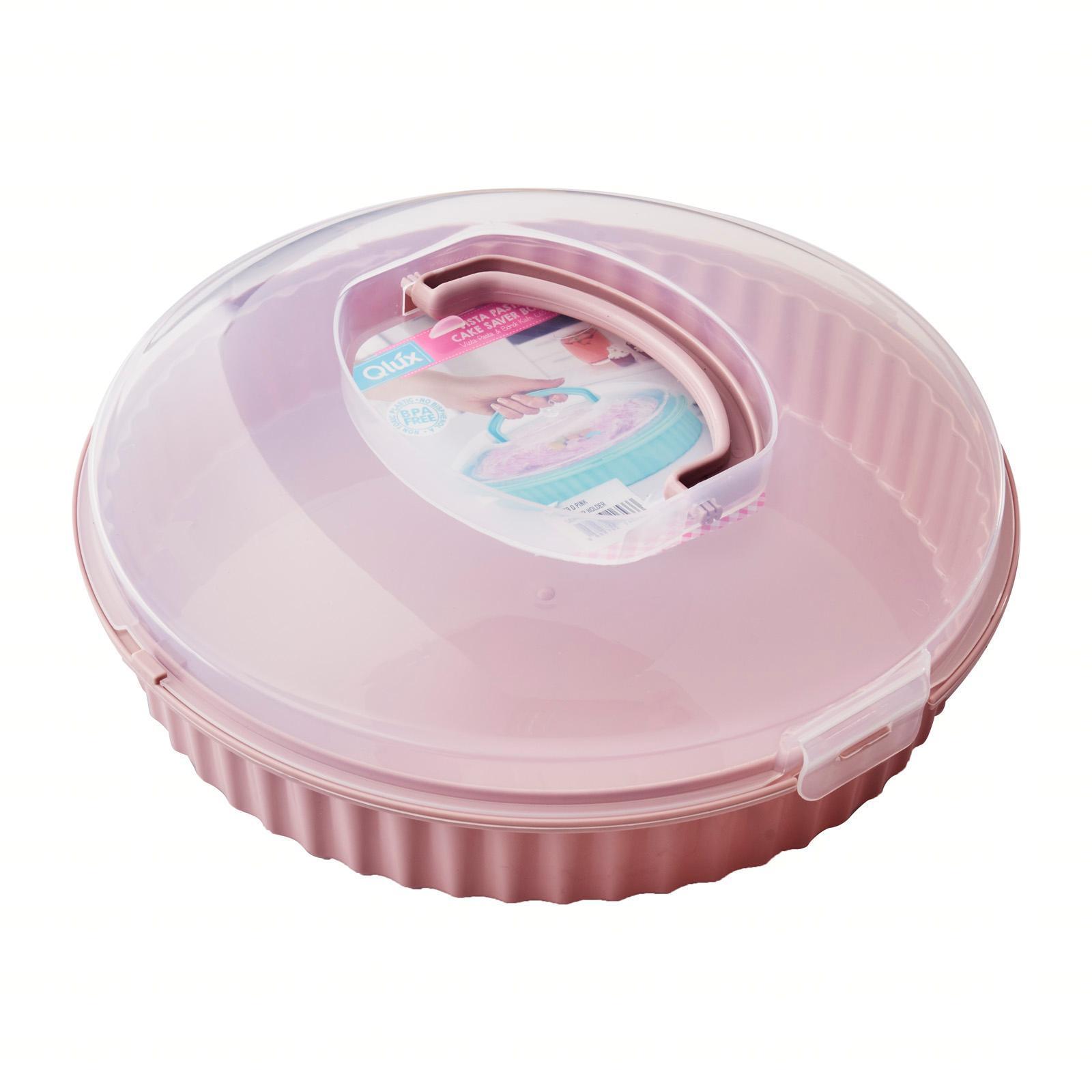 Lux Vista Cake Carrier Holder (Dull Pink) D31.5 H10 CM
